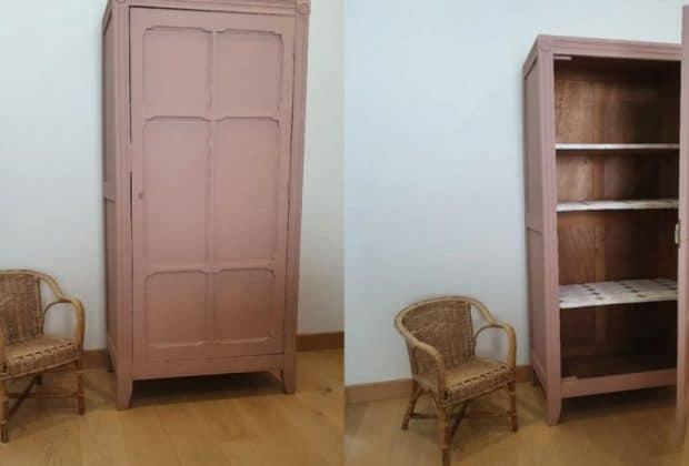 Comment relooker une armoire parisienne?